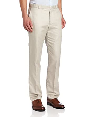 Perry Ellis Men's Slim Twill Pant, Stone, 30x30