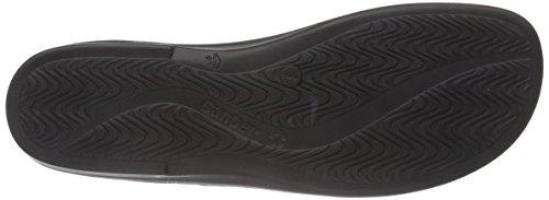 Ganter SONNICA, Weite E - zuecos de cuero mujer negro - Schwarz (schwarz 0100)