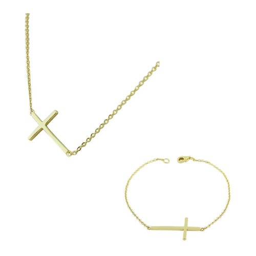925 Sterling Silver Gold-Tone