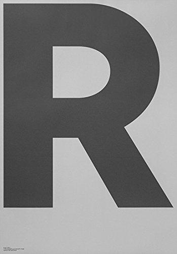 ポスター PLAYTYPE R-GREY 01-0006 B06Y2T6PD7
