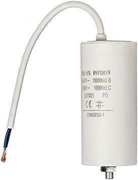 450 v avec cable Condensateur 10uf
