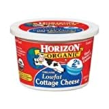 WhiteWave Horizon Organic Cottage Cheese, 16 Ounce -- 6 per case.