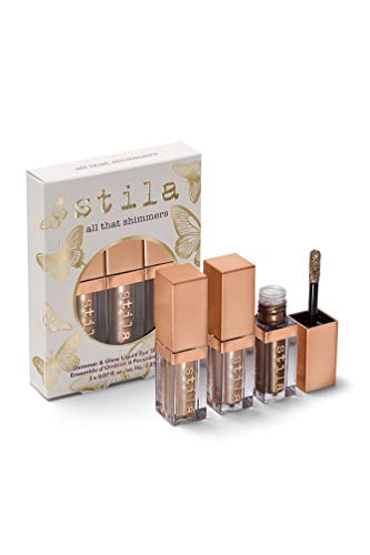 - stila All That Shimmers Shimmer & Glow Liquid Eye Shadow Set, 0.21 Fl. Oz.