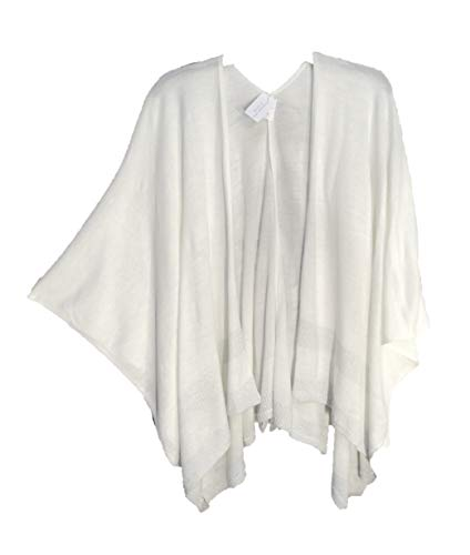 CHRISTOPHER & BANKS/CJ BANKS Kimono Kaftan Poncho Cape Cardigan Jacket Sweater WRAP TOP Womens Plus~ONE Size, OS,1X, 2X, 3X from CHRISTOPHER & BANKS/CJ BANKS