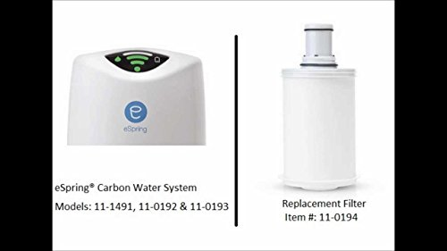 Amway eSpring Carbon Water Treatment System - Replacement...