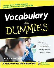 Vocabulary for Dummies 1st (first) edition Text Only