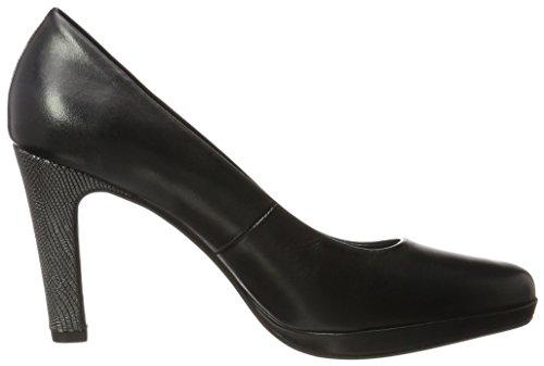 Schwarz Bugatti para Mujer Schwarz Zapatos de Tacón V79611 PTnrw8zTqY