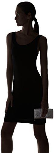 Love Moschino Portafogli Embossed Pu Nero - Donna, Schwarz (Black), 10x20x3 cm (B x H T)