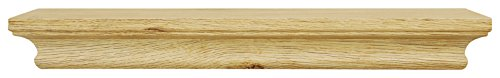 "kieragrace  Boston Wall Shelf, 16"" , Natural Wood, Pale Natural Wood - Decorative wall ledge Overall size: 1.25x16x4"" Ready to hang; hanging hardware and instructions included - wall-shelves, living-room-furniture, living-room - 31ZhkpyvHiL -"