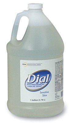 Moisturizer Dial Liquid (Liquid Dial Moisturizers with Vitamin E Antimicrobial Hand Soap Refill (1 Gallon) (1 Bottle) - AB-600-1-19)