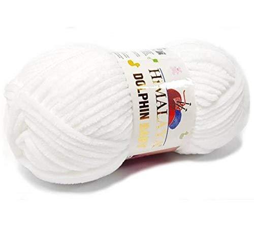 - 9 Balls Himalaya, Dolphin Baby, Baby Yarn, Knitting Baby, Velvet Yarn, Himalaya Yarn, Baby Yarn, Crochet Yarn, Blanket Yarn, Chenille, Velvet Yarn
