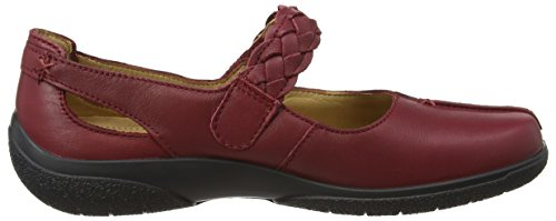 ... Hotter Damen Shake Mary Jane Schuhe Red (Ruby)