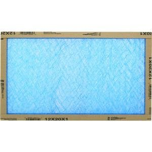 Flanders/Precisionaire 12x20x1 Fiberglass Furnace Filters (Pack of 12)