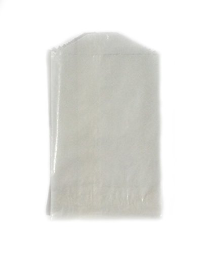 - 100 - Flat Glassine Wax Paper Bags - 2 3/4in x 4 1/4in - (7cm x 11cm) - Extra Small (XS)