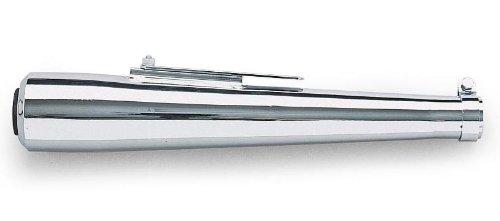 "Universal Megaphone Muffler, Manufacturer: Helix Racing Products, MUFF STR MEG 19 7/8"" CHROME"