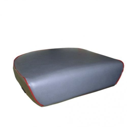 Seat Cushion Vinyl Gray with Red Trim Massey Ferguson 283 TE20 35 88 204 30 203 TO30 135 85 30E 140 235 25 250 TEA20 178 31 245 202 40 40 20C TO20 130 230 50 20 240 98 1030 20D 150 TO35 65 185 All States Ag Parts