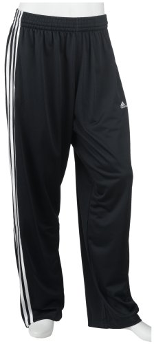 adidas Men's Double Up Mini-Mesh Pant, Dark Navy/White, Small