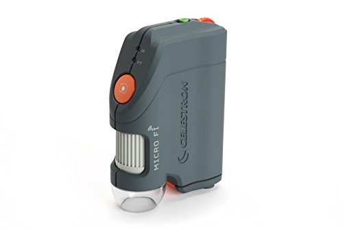 Celestron 44313 Micro Fi Wi-Fi Microscope (Gray) by Celestron