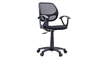 Genial Urban Ladder Eisner Low Back Study Office Computer Chair(Black)