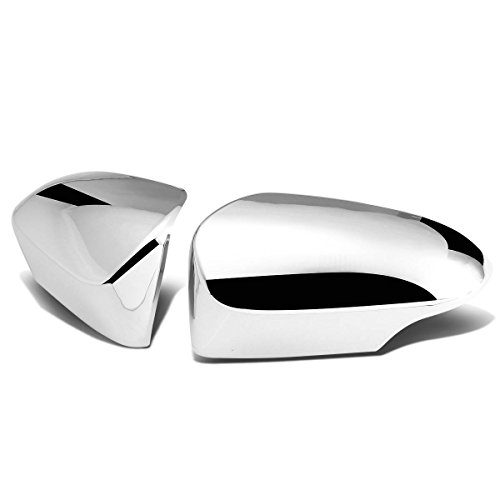 For Corolla E170 Pair of Exterior Side Door Mirror Covers (Chrome)