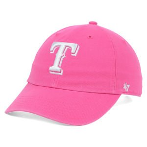competitive price eb4bb b9c73 Image Unavailable. Image not available for. Color   47 Brand Texas Rangers  Clean Up Cap.