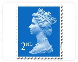 48 x 2nd Class Stamps Sheet - Royal Mail Postal Stamps - Self Adhesive