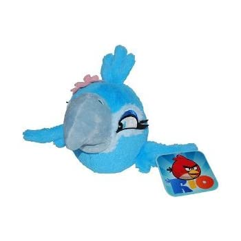 Amazon.com: Angry Birds RIO 5-Inch Blue Bird with Sound ...