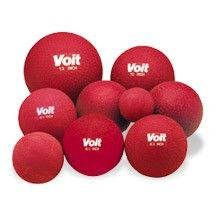 Voit Playground Ball, Red, 16-Inch