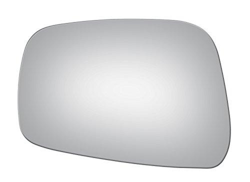 Burco 4043 Flat Driver Side Replacement Mirror Glass for Nissan Frontier, Pathfinder, Xterra, Suzuki Equator (2005, 2006, 2007, 2008, 2009, 2010, 2011, 2012, 2013, 2014, 2015, 2016)