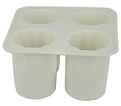Compra Bisj Puede Comer Tazas, Cubitos de Hielo Hechos en casa Cubitos de Hielo Cubos de Hielo Molde de Hielo Caja de Hielo en Amazon.es