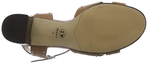 De Punta Para leather leather Dune Tan Mujer Joyride Sandalias Marrón Descubierta tan qEOExwHR6