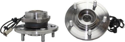 Rear Bolt Chrysler - Brand New (Both) Rear Wheel Hub and Bearing Assembly for 2004-06 Chrysler Pacific 5 Bolt W/ABS (Pair) 512288 x2