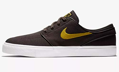 Nike SB Zoom Stefan Janoski Canvas Men's Shoes - 615957 (10 D(M) US, Velvet Brown/Peat Moss) ()