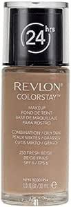 Revlon ColorStay Makeup Foundation for Normal/Dry Skin - 250 Fresh Beige, 1.0oz/30ml