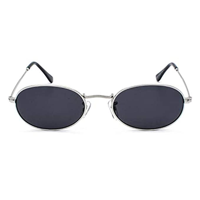 Da Per Sole Clear Retro Donna Lens Uomo New Occhiali Eyewear Vintage Mxssi Uv400 Oval