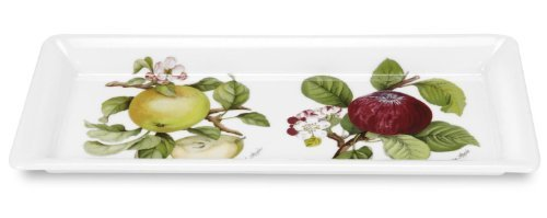 Portmeirion Pomona Sandwich Tray Rect-Red & Green Apple by Portmeirion Portmeirion Apple
