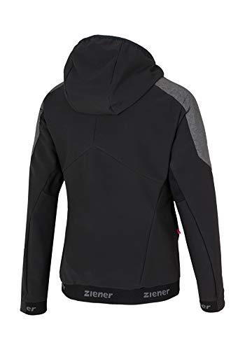 jacket Ziener Nadina Melange Donna Giacca Active Lady Magnet black qAHAR