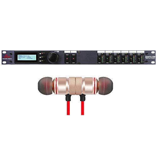 dbx ZonePro 1260 12x6 Digital Zone Processor includes Free Wireless Earbuds - Stereo Bluetooth In-ear Earphones