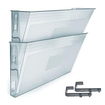 Acrimet Archivador Modular de Pared (2 Unidades) (Color Transparente)