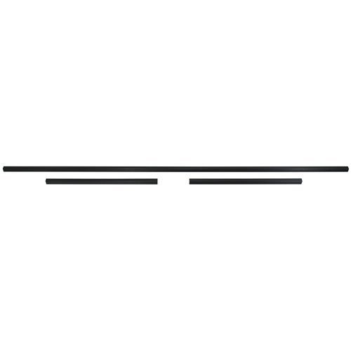 Trim Parts 4172 1964-1965 Chevelle 2-Door Hardtop Rear Window Trim, 3 Pieces ()