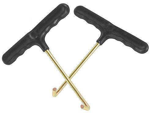 Vincilee Trampoline Spring Pull Tool (T-Hook) Trampoline Spring Tool(2 Pack ()