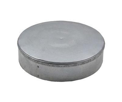 Flue & Pipe Cap - Galvanized 14 inch
