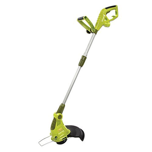Corded String In 13 (Sun Joe 13-inch Corded Electric Grass Trimmer/Edger in Green)