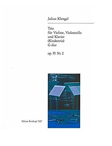 Kindertrio G-dur op. 35 Nr. 2 für Violine, Cello und Klavier (EB 3327)