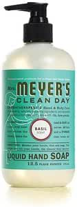 Mrs. MeyerS Liquid Hand Soap - Basil - 12.5 Oz