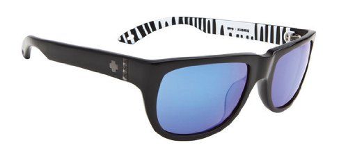 Spy Kubrik Sunglasses Ken Block Black/Grey Blue Spectra, One - Block Glasses Spy Ken