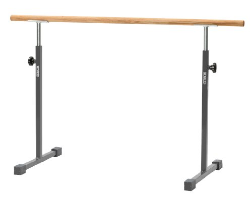 Free Standing Ballet Bar with 5' Poplar Rail