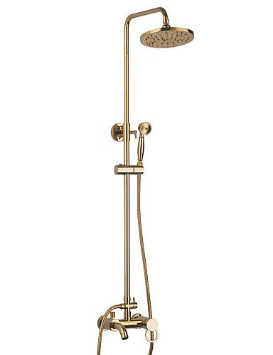 BBSLT-Personalized-Shower-Faucet-Set-in-Contemporary-style-Single-Handle-Wall-Mount-Ti-PVD