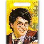 Harry Potter Party Supply Goody Loot Bag Treat Sacks 8 Count