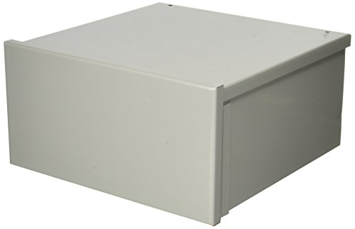 Hoffman A12R126 NEMA 3R Enclosure, Screw Cover, Galvanized, Paint Finish, 12'' x 12'' x 6'' by Hoffman
